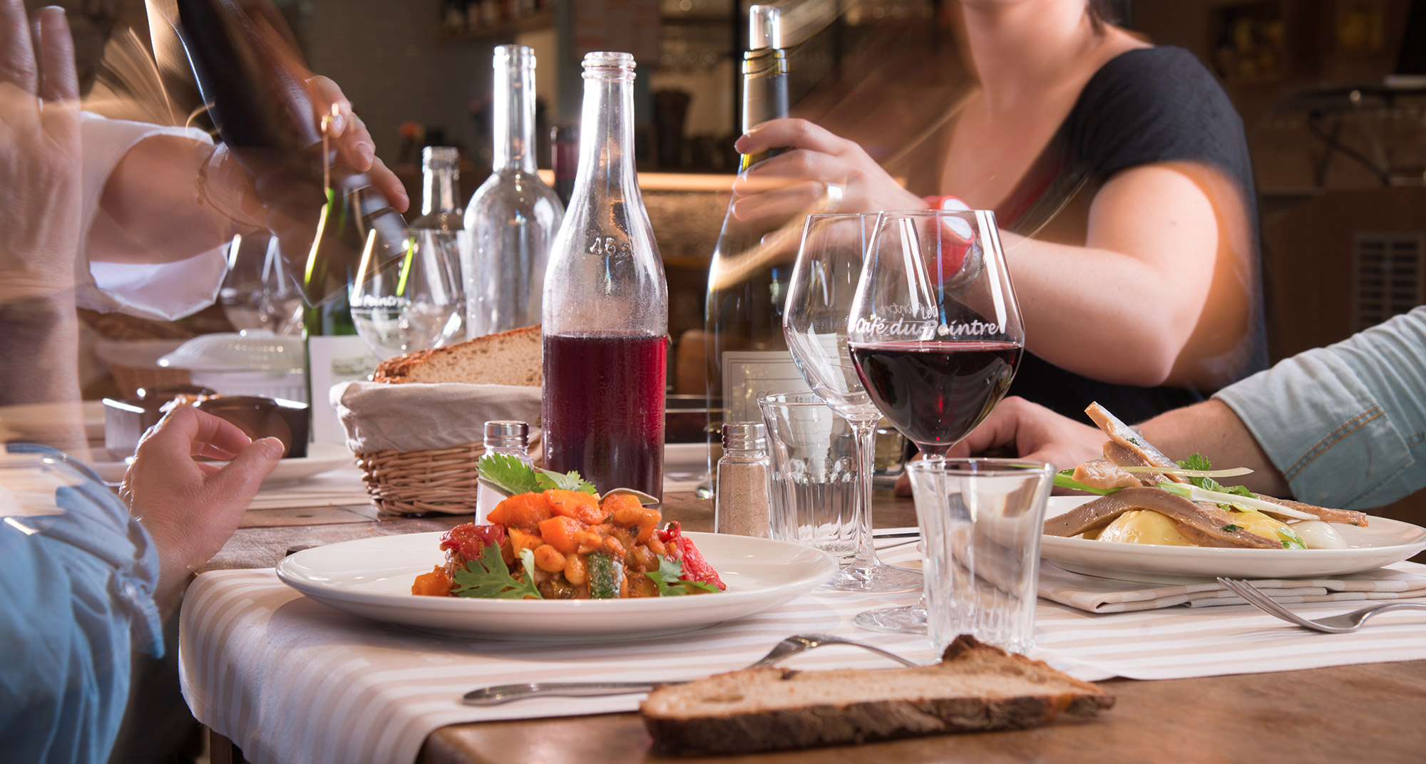 le café du peintre - bouchon lyonnais - restaurant lyon 6