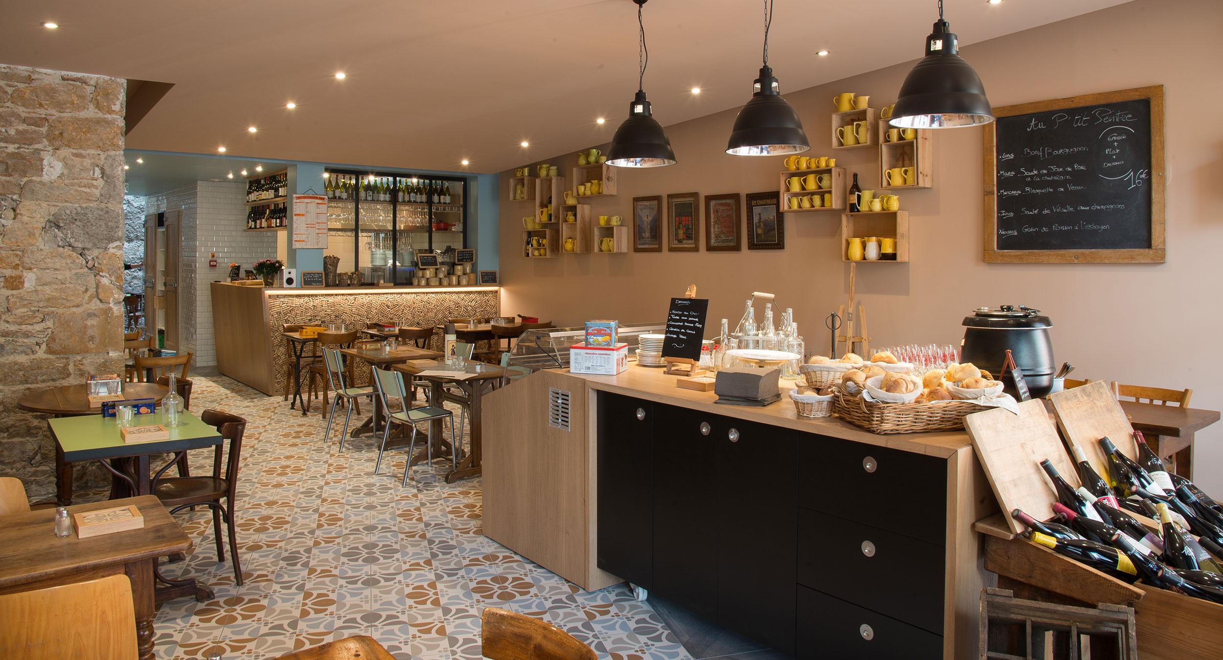 Au P'tit Peintre, restaurant Lyonnais à Lyon 6