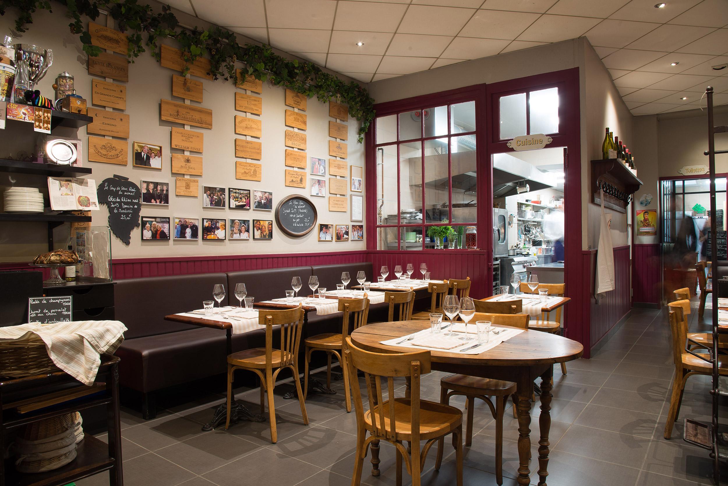 Le Café du Peintre - Bouchon lyonnais et restaurant Lyon 6